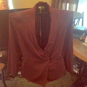 Perfect for the office**Maroon Light Weight Blazer